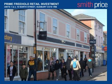prime freehold retail investment - Smith Price