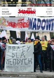 nr 2 (677) - Zarząd Regionu Małopolska NSZZ Solidarność