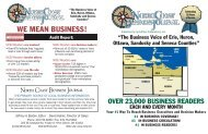 WE MEAN BUSINESS! - Tiffin Area Chamber of Commerce