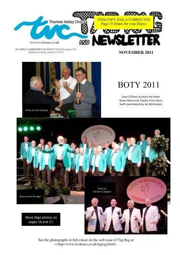 BOTY 2011 - Thames Valley Chorus