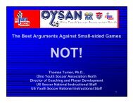 The Best Arguments Against Small-sided Games - Indiana Soccer