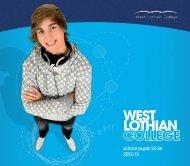higher education - West Lothian College