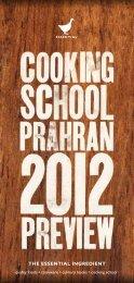 The Essential Ingredient Cooking School Prahran 2012 Preview
