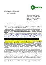 Leggi il commento dell'Ufficio Legislativo Confesercenti - Fiesa