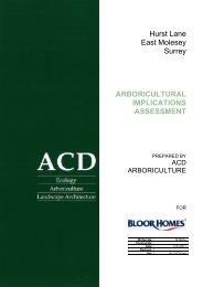 arboricultural implications assessment - Elmbridge Borough Council