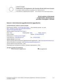 rettifica data di scadenza offerte (.pdf 71 KB ) - Gare Ferservizi