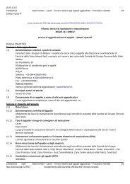 Esito di gara (.pdf 101 KB ) - Gare Ferservizi