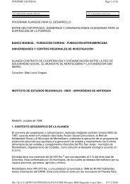programa alianzas para el desarrollo entre sector ... - Gestión Social