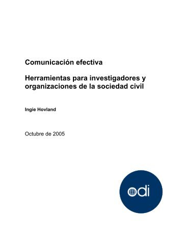 Comunicación efectiva - Ministerio de Hacienda