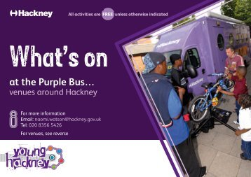 The Purple Bus - Young Hackney