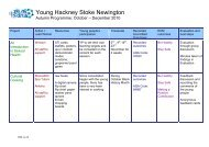 Young Hackney Stoke Newington