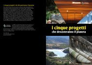 I cinque progetti che devasteranno il pianeta - Altreconomia