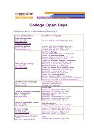 College Open Days 2011.pdf - Young Hackney