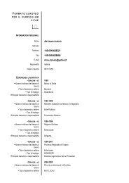 curriculum europeo Dr.Caruso[1] - Provincia di Palermo