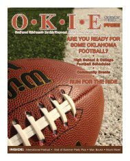 OKIE September 2009.indd - OKIE Magazine