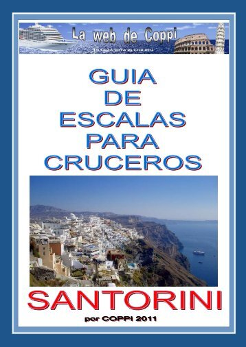 La guia de Santorini de - la web de coppi