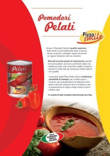 Scheda Pomodori pelati - Grandi Molini Italiani