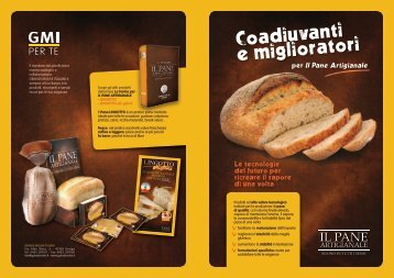 Presentazione Coadiuvanti Pane Artigianale - Grandi Molini Italiani