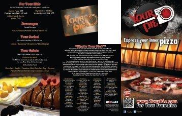 Download Our Menu - Your Pie
