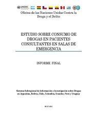 estudio sobre consumo de drogas en pacientes consultantes en ...