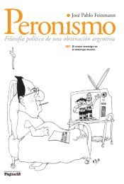 Filosofía política de una obstinación argentina - Página/12