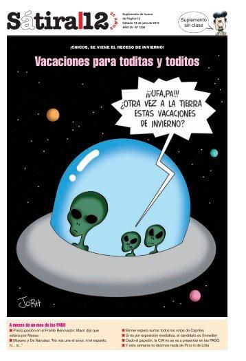 Vacaciones para toditas y toditos - Página/12