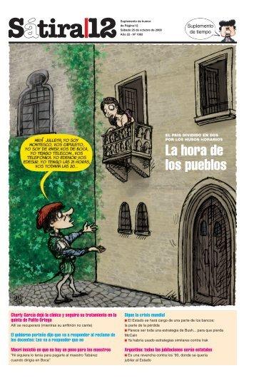 La hora de los pueblos - Página/12