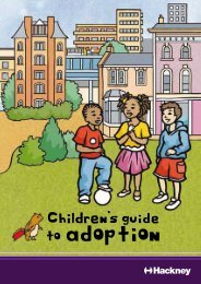 Children's Guide to Adoption - Young Hackney