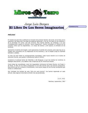 Borges, Jorge Luis - El Libro De Los Seres Imaginarios