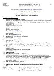 Esito (.pdf 102 KB ) - Gare Ferservizi - Ferrovie dello Stato
