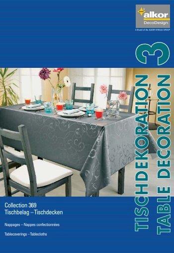 Collection 369 Tischbelag – Tischdecken - Bak Roll