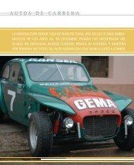 AUTOS DE CARRERA - Ruedas Clásicas