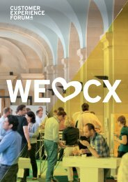 CX Forum 4 Magazin - Customer Experience Forum