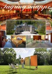 Tagungsmappe - Schlosshotel Monrepos