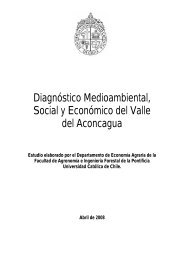 Diagnóstico Medioambiental, Social y Económico del Valle del ...