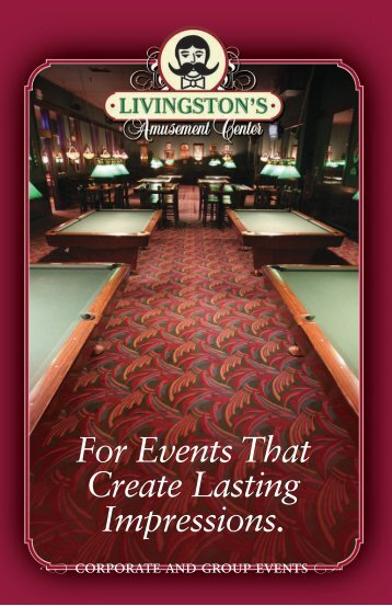 With Billiards. - Livingston's Amusement Center