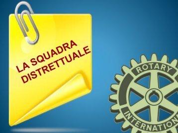 Squadra Distrettuale - Rotary International Distretto 2060