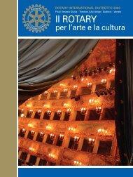 Scarica l'opuscolo - Rotary International Distretto 2060