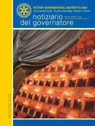 Il Notiziario del Governatore settembre 2013 - Rotary International ...