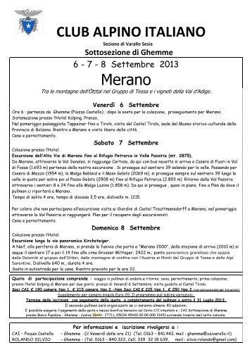 2013.locandina+ rifugio petrarca.pdf - CAI Sezione Varallo Sesia