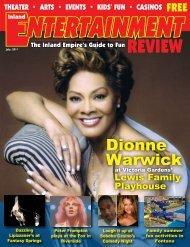 Dionne Warwick - Inland Entertainment Review Magazine