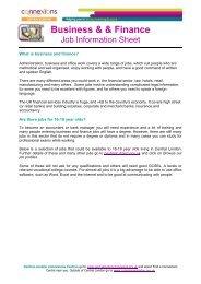 Business Job Info Sheet - Mar 12.pdf - Young Hackney
