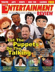 Puppets Talking - Inland Entertainment Review Magazine