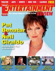 Neil Giraldo Pat Benatar - Inland Entertainment Review Magazine