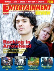 Riverside - Inland Entertainment Review Magazine