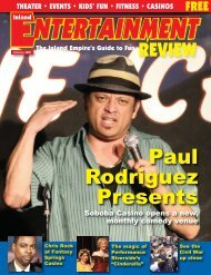 Paul Rodriguez Presents - Inland Entertainment Review Magazine