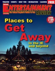 $100 $100 - Inland Entertainment Review Magazine