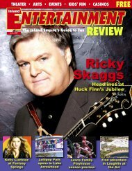 Ricky Skaggs - Inland Entertainment Review Magazine