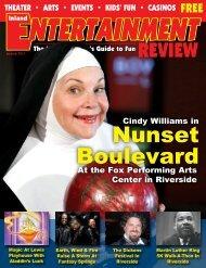 Nunset Boulevard - Inland Entertainment Review Magazine