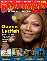 Queen Latifah - Inland Entertainment Review Magazine